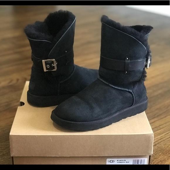 4bb75d9d653 Ugg Jaylyn Boots in Black